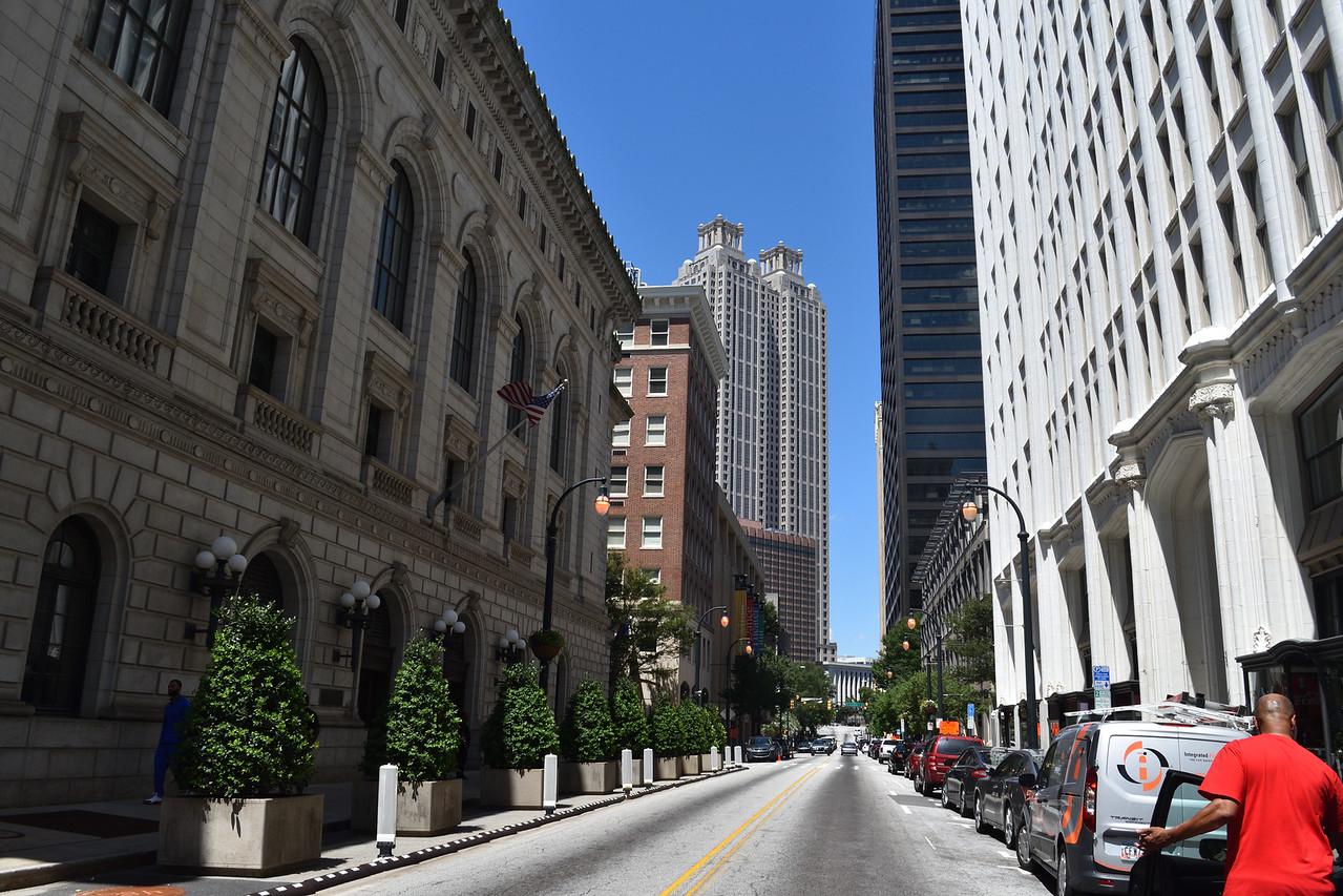 Downtown Atlanta..