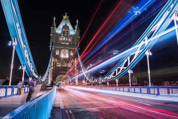 Light trial - Tower Bridge