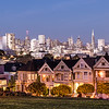 Painted Ladies, San Francisco, CA