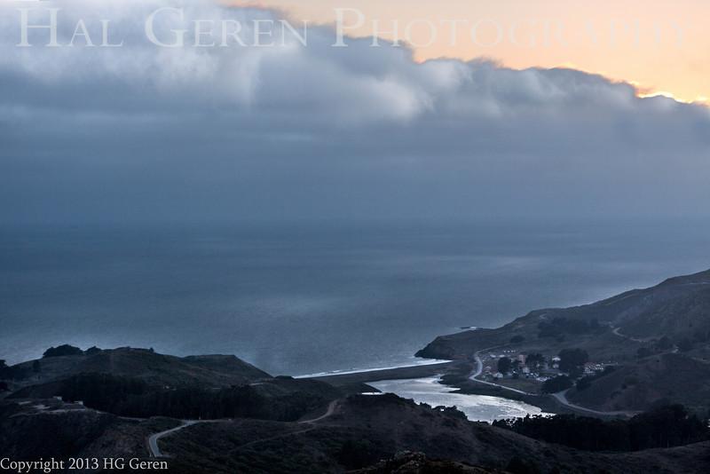 Coast north of Point Bonita<br /> San Francisco, California<br /> 1308GG-PB2
