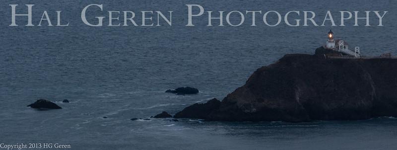Point Bonita Lighthouse<br /> San Francisco, California<br /> 1308GG-PB1A