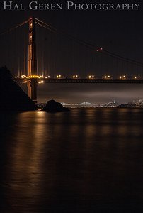 Golden Gate Bridge from Kirby Cove Marin, California 1304KK-GGB2