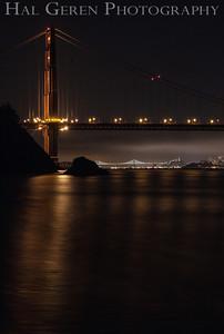 Golden Gate Bridge from Kirby Cove Marin, California 1304KK-GGB2