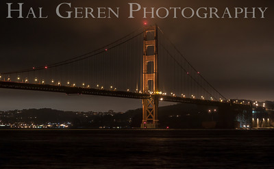 Golden Gate Bridge Marin, California 1304KK-GGB10
