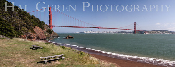 Kirby Cove Marin, California 1304KK-GGBP2