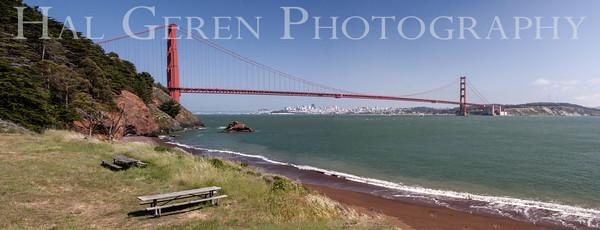 Kirby Cove Marin, California 1304KK-GGBP2