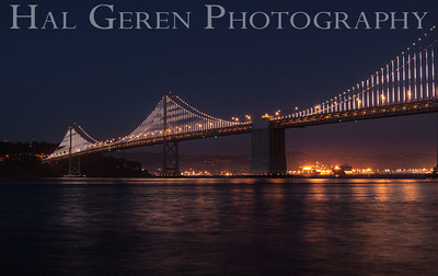 Bay Bridge San Francisco, California 1304SF-BB6