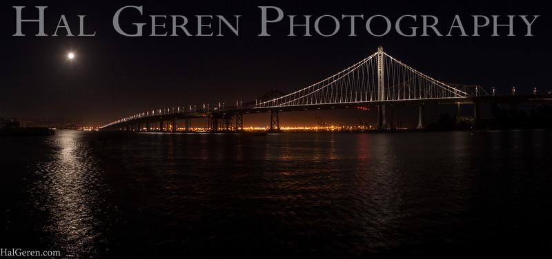 Bay Bridge from Treasure Island<br /> San Francisco, California<br /> 1311BB-BBP5