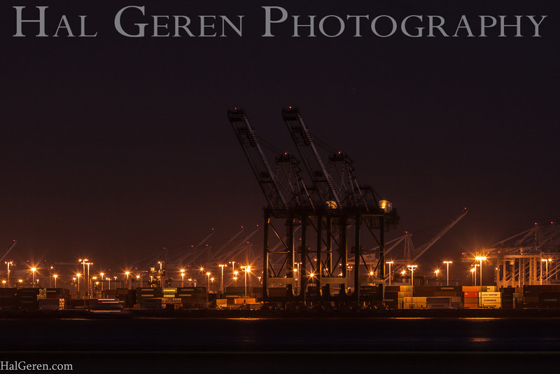 Oakland Dock Crane<br /> Oakland, California<br /> 1311BB-C2