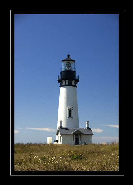 Yaquina Lighthouse. Oregon