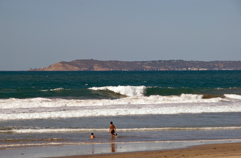 Point Loma from Imperial Beach, CA