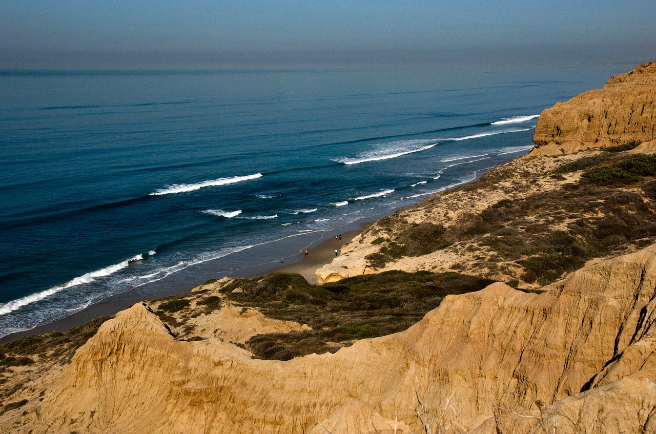 153 Torrey Pines cliffs and beach view