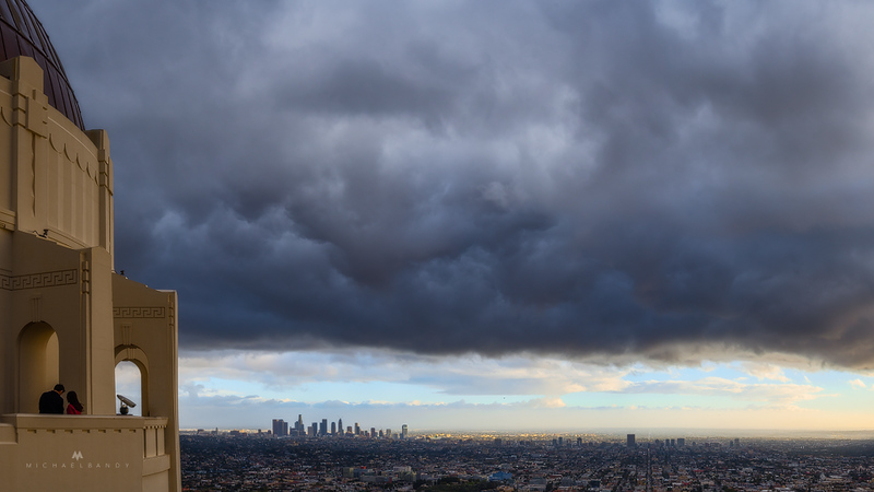 Clearing Storm over the City