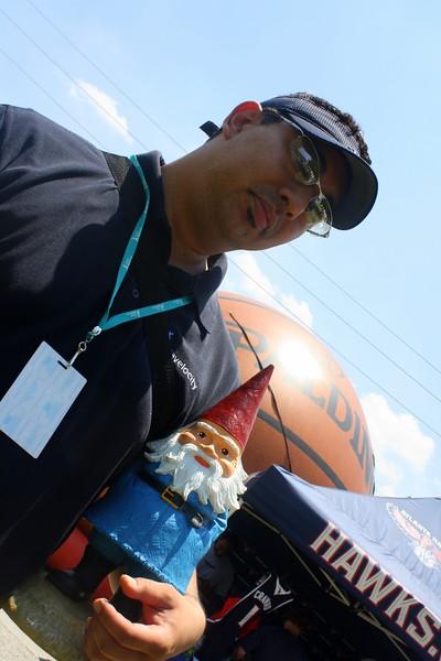 Travelocity Gnome - ATL Jazz Festival 2011