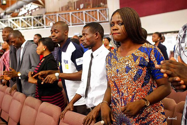 End of fast thanksgiving service