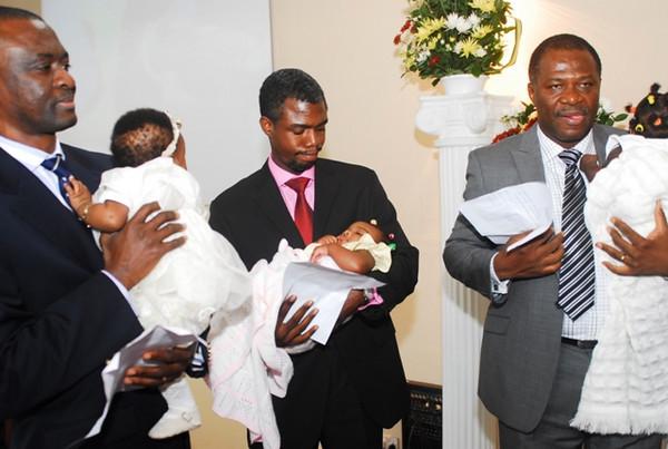 Sept Baby Dedication