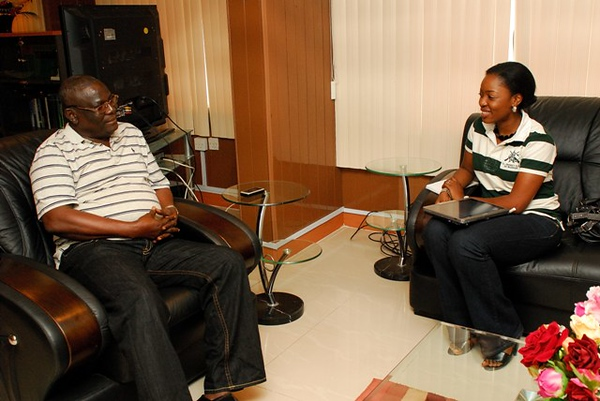 Interview with Mr. Akpoyibo, Comm. of Police, Lagos State