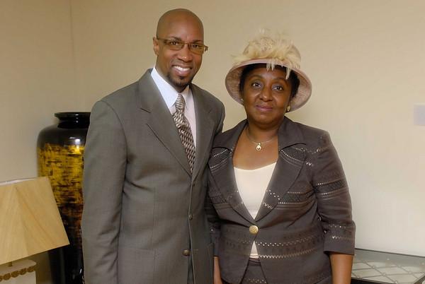 With Pastor Sturdivant