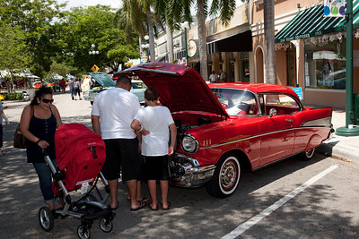Dream Car Classic in Downtown Hollywood Florida