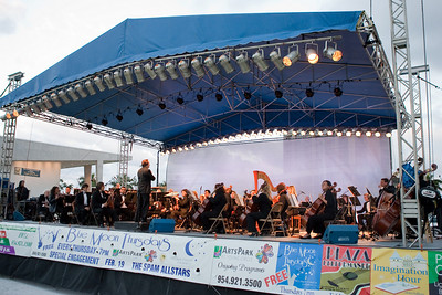 ArtsPark Symphony Series by the Symphony of the Americas conducted by Dr. James Brooks- Bruzzese.