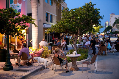 Arts Walk in Downtown Hollywood