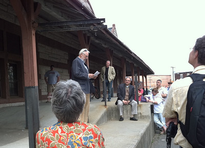Historian James O'Gorman spoke about Henry Hobson Richardson and his legacy.