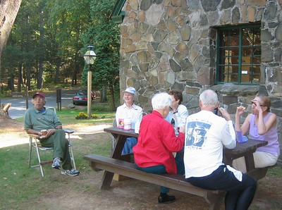 Tea at Mt Tom -- a Monday afternoon social activity (May-Oct at 2:30pm)