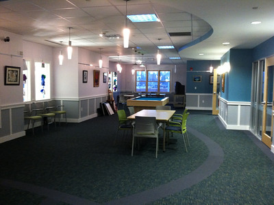 2nd floor games area.  Doors on right lead into a large activity room (see next...)