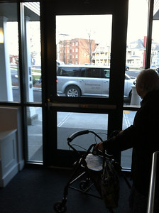 Transportation services help many people come to the Senior Center.