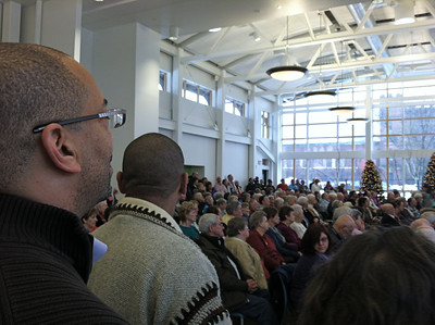 Standing room only!