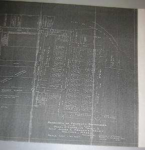 This copy of a 1916 document shows a more accurate drawing of how Madison Ave jogs at Nonotuck Street.