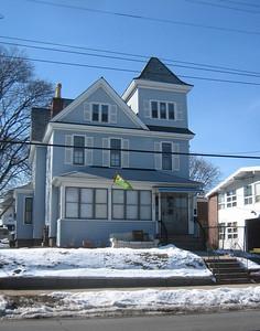 Same house at 127 Nonotuck, February 2008.