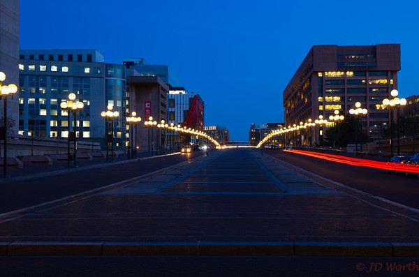 L'Enfant Plaza SW Promenade Twilight - CL3