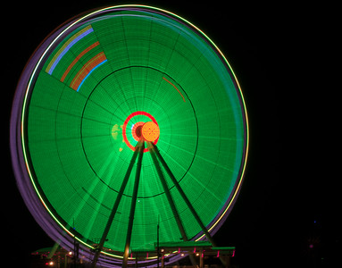 National Harbor Capital Wheel Green Dec. 2015 - CL6