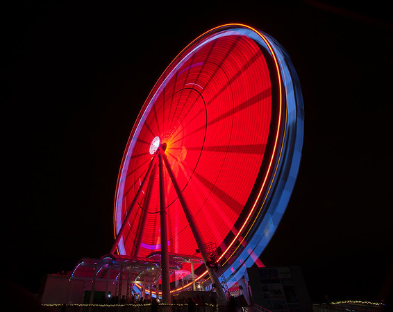 National Harbor Capital Wheel Red Dec. 2015 - CL5