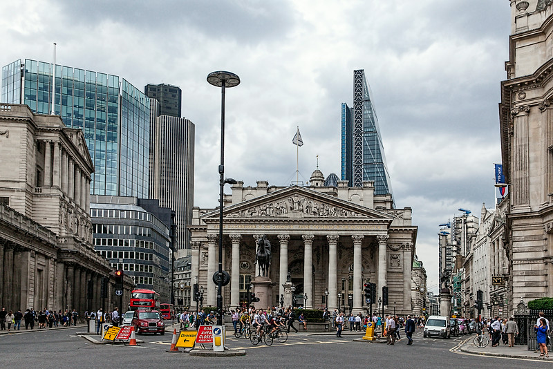 Rush Hour in the City of London