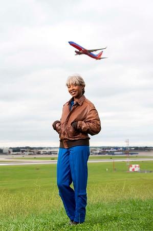 Aviator Brenda Robinson 8-25-19 by Jon Strayhorn