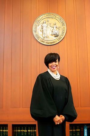 Portriat of Judge Karen Eddy-Williams in her Chamber April 20 2018