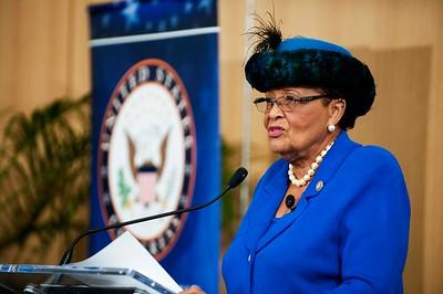 Congresswoman Alma Adams State of the District @ UNC Charlotte Center City 1-25-18 by Jon Strayhorn