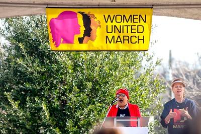 Women United March NCBW 100  @ 1st Ward Park 1-25-2020 by Jon Strayhorn