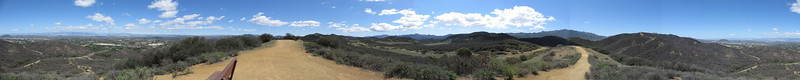 Los Robles East Overlook Trail Panorama