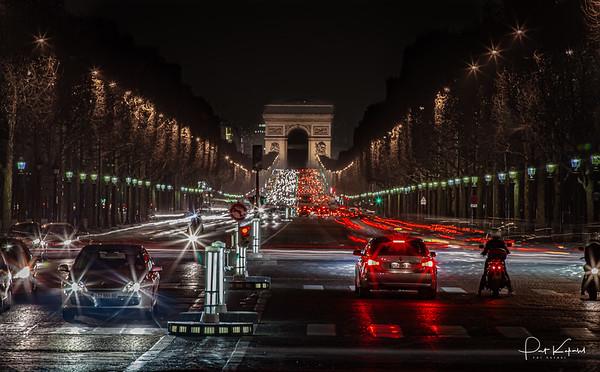 Champs Élysées - Nuit