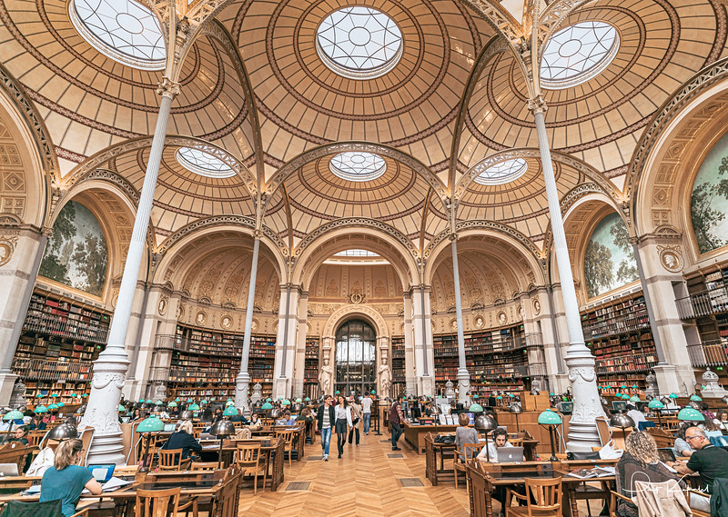 Salle Labrouste – Bibliotheque Nationale
