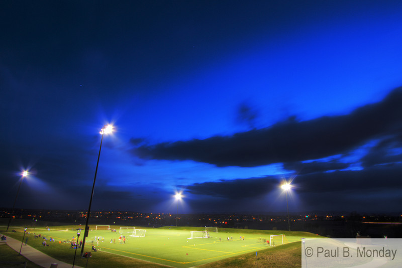 And for the final night I revisited the first week's shot.  By now I was able to wrap a little more predictability in the shot as the sky was reminiscent of Week 1.<br /> <br /> And with this final shot, Goalie ( / HDR Photography) Camp concludes :)