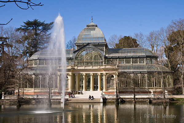 Full-on view of the Crystal Palace.