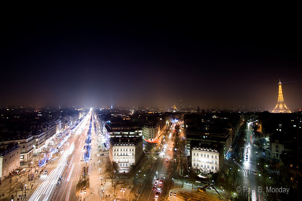 Paris, city of lights.