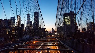 Off the Brooklyn Bridge