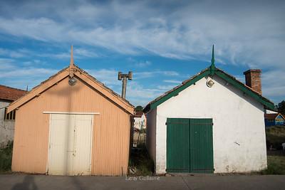 île d'Oléron Le port ostréicole du Château d'Oléron