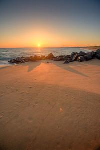 île d'Oléron La plage de Foulerots
