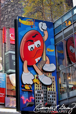 The M&M Store!